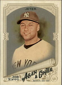 Details About 2018 Topps Allen And Ginter Baseball Hot Box Parallel Singles Pick Your Cards