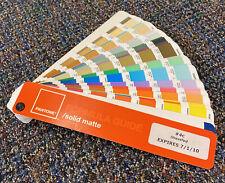 Pantone Solid Matte Formula Guide Fast Shipping