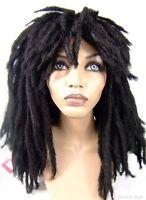 Rasta .. Dreadlocks .. Dreads .. Full Wig From Sepia .. Black Unisex Nice