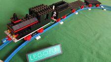LEGO® Eisenbahn Kreativ-Set - Zug mit Motor + Schienen, Lok mit 3 Waggons Train,