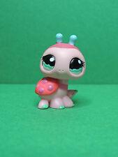 #1143 Coccinelle small Ladybug aqua eyes LPS Littlest Pet Shop Figurine figure