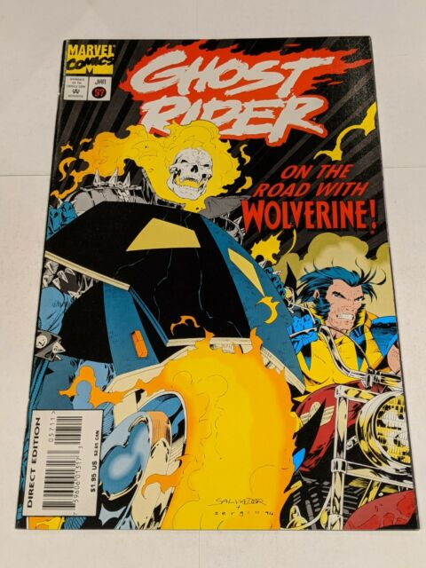 Ghost Rider #57 January 1995 Marvel Comics