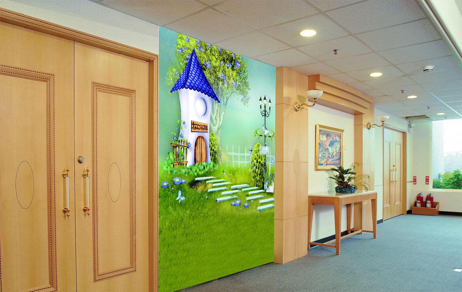 3D Grün Cartoon 2350 Paper Wall Print Decal Wall Wall Murals AJ WALLPAPER GB