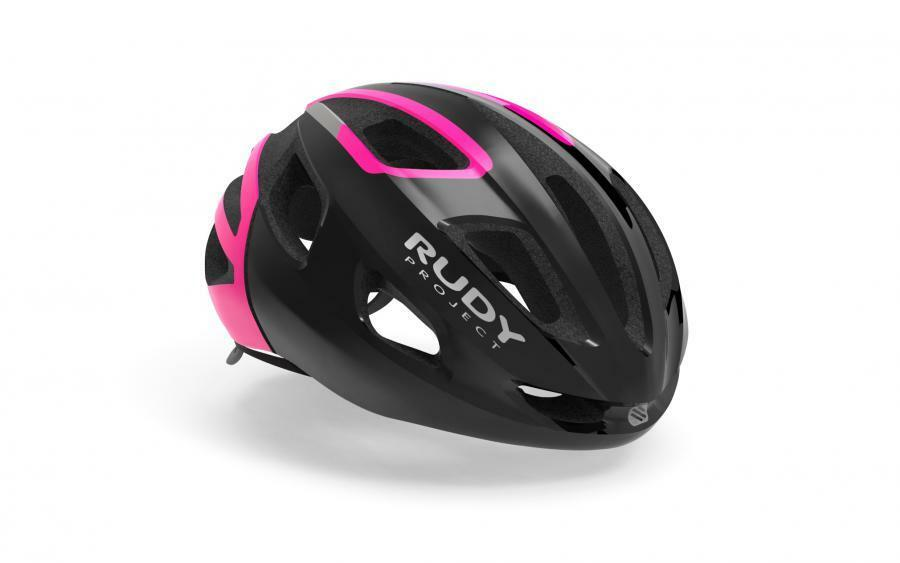 CASCO RUDY PROJECT STRYM BLK PINK  FLUO SHINY 2019  wholesale price