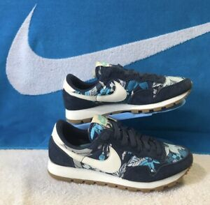Palacio de los niños Sano Afectar  Womens Nike Air Pegasus 83 Print 725079-400 Midnight Navy/ Sail-Tide Pool  Blue | eBay