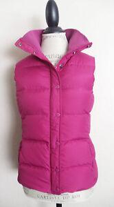 J Crew Pink Down Puffer Vest Jacket Xs Euc Ebay