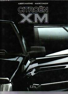 Citroen-XM-by-Martinez-Sauzay-Superbly-illustrated-book-English-Text