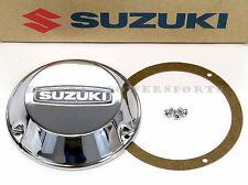 New Suzuki Chrome Left Points Cover Case w/ Gasket Screws 72-77 GT750 OEM #a25