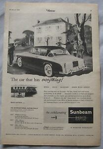 1956-Sunbeam-Rapier-Original-advert-No-2