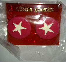 FASHION EARRINGS 126 VTG SuperStar
