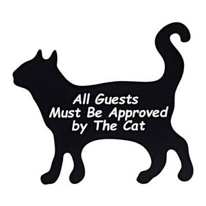 Details About Cat Wall Decor All Guests Must Be Approved By The Cat Fibreboard Essunga Ikea