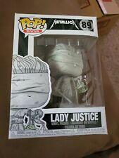 Funko-POP Rocks Lady Justice Brand New in Box Metallica