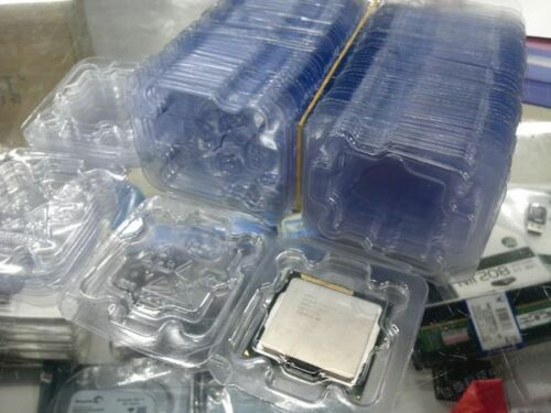 20 pcs New Inter CPU Clamshell Tray Case For 478 775 1150 1155 1156 i3 i5 i7 CPU