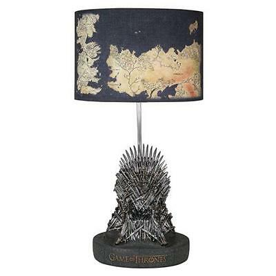 GAME OF THRONES Official 2nd Edition IRON THRONE Replica Westeros Table LAMP