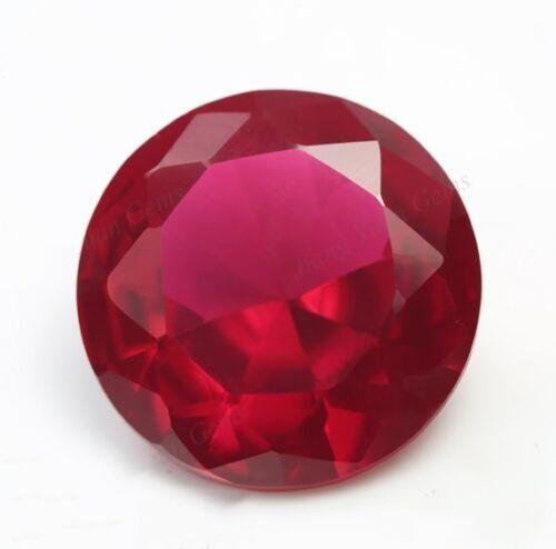 Sin calefacción 2.45 CT 8 mm Paloma Roja Sangre Ruby Corte Redondo Vvs AAAAA Piedra Suelta