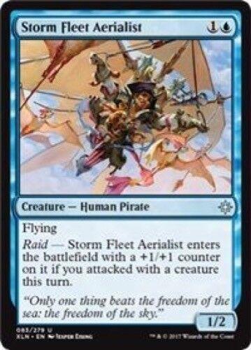 Uncommon 4 x Storm Fleet Aerialist 083//279 - Ixalan