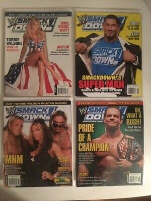 WWE Smackdown Magazine October 2005
