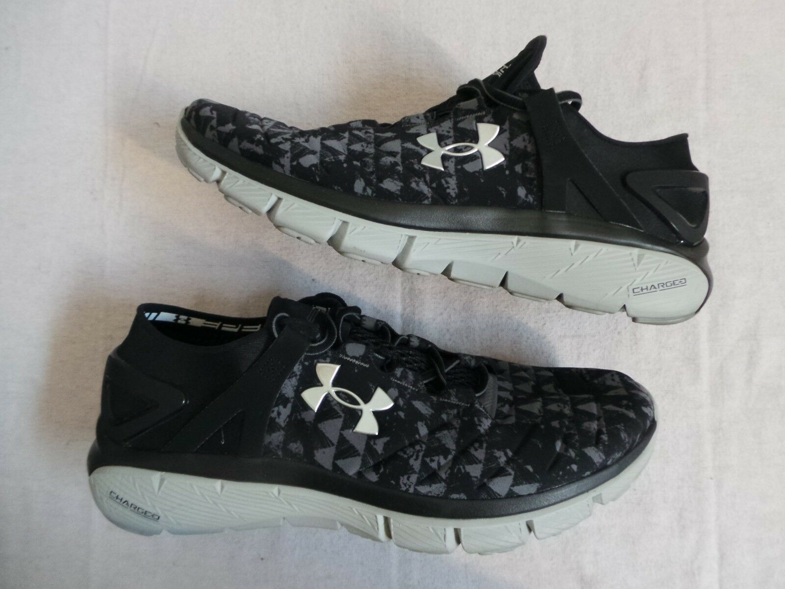 Under Armour UA Speedform Fortis KO 10.5 Micro G Charged size 10.5 KO VNDS Worn Once 1X 1f79ea