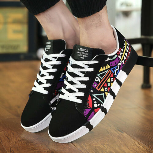 Spring New Men /'s Casual Shoes Canvas Shoes Sports Students Board Shoes Y519