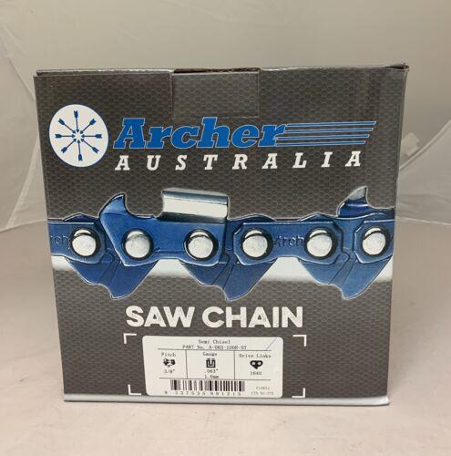 "100ft Roll 3//8/"" .063 Semi-Chisel SKIP-TOOTH Chain saw Chain replaces 75DGX100U"