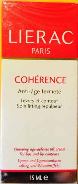 LIERAC PARIS COHERENCE PLUMPING AGE-DEFENSE LIFT CREAM FOR LIPS & LIP CONTOUR