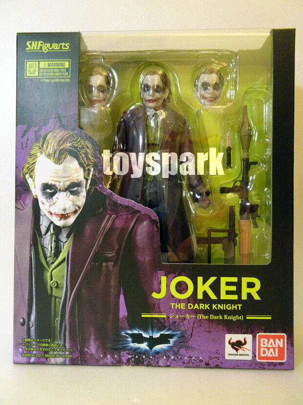 Bandai S.H.Figuarts dc Batman The Dark Knight JOKER Heath Ledger action figure