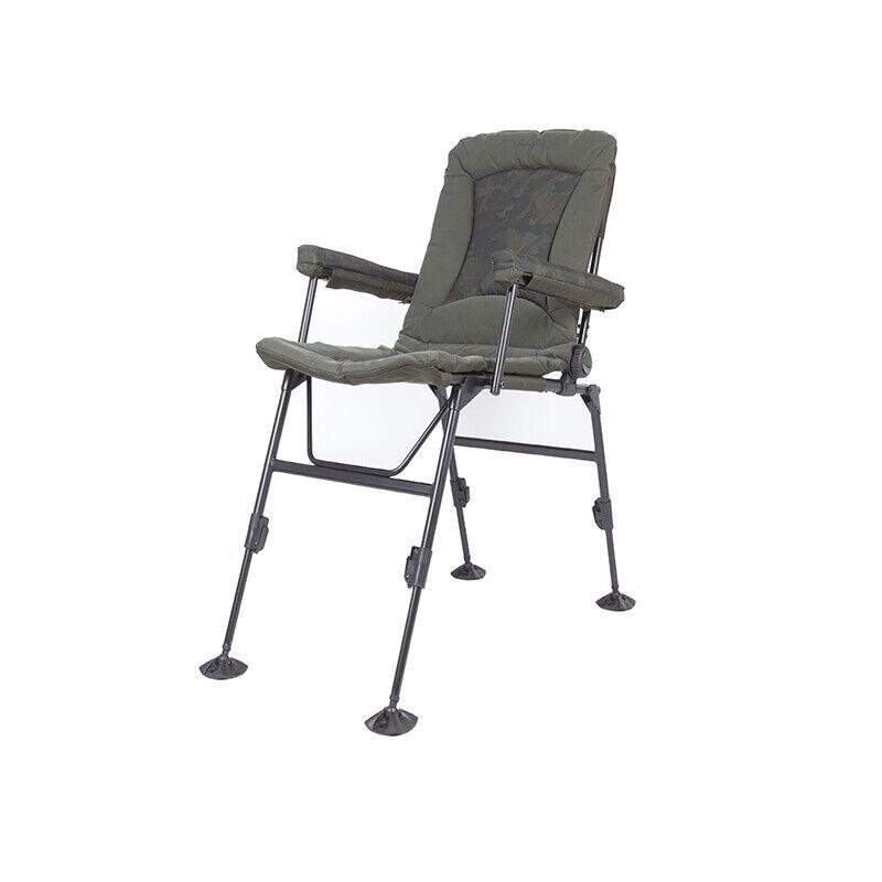 Nash Indulgence Daddy Long Legs Chair  Camo  T9751  Carp Fishing Chair