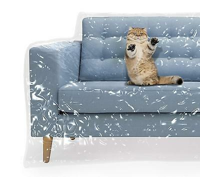 Plastic Couch Sofa Cover Pet Dog Cat Scratch Protector