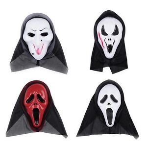 Halloween-Masquerade-Fancy-Party-Scary-Devil-Face-Grimace-Movie-Mask-Red-Face