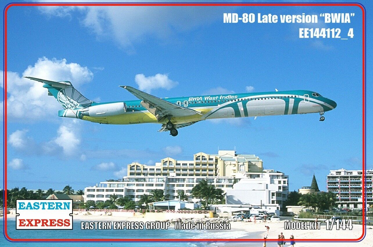 Eastern Express 1  144 Airliner MD -80 Late BWIA EE144112 u 4