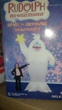 CHRISTMAS BUMBLE ABOMINABLE SNOWMAN RUDOLPH REINDEER AIRBLOWN INFLATABLE 8 ft