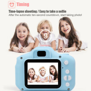 X2-Mini-Digital-Camera-Video-Recording-Camcorders-for-Children-Kids-Baby-Blue
