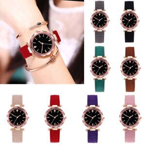 Fashion-Women-Casual-Leather-Watch-Luxury-Analog-Quartz-Starry-Sky-Wristwatch