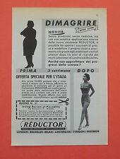 D154 - Advertising Pubblicità - 1959 - REDUCTOR EMULSIONE PER DIMAGRIRE