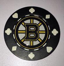 Boston Bruins Poker CHIP CARD GUARD WSOP, Poker Weight NHL Poker Chip