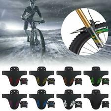 1 Set Cycling Mountain Bicycle Bike Front+Rear Fenders MTB Mudguard Mud Guards