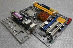 Genuine-ASUS-P5QPL-AM-REV-1-03G-DDR2-Socket-775-Motherboard-with-I-O-Backplate