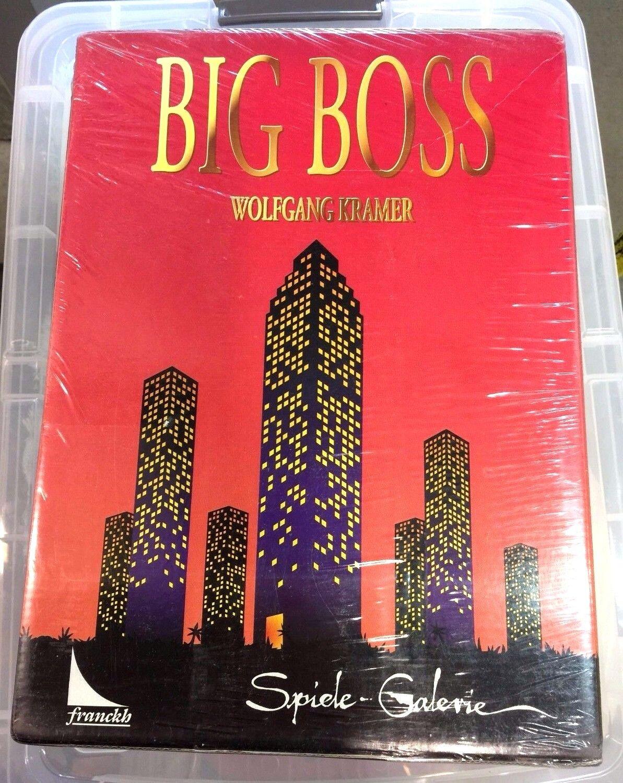 BIG BOSS Board Game Kosmos Neuf Scellé Dans Psy Wolfgang Kramer extrêmement rare