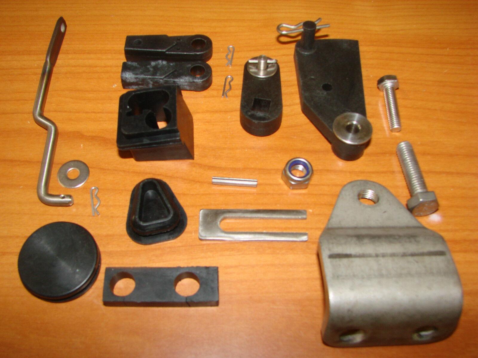 Umbau Set Fernschaltungs kit F9,9/ F15/ F Pinne 25 Parsun von Pinne F auf Fernschaltung d5b0cc