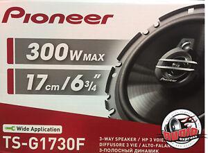 Pioneer-ts-g1730f-3-wege-Altavoz-para-VW-OPEL-FIAT-BMW-NUEVO