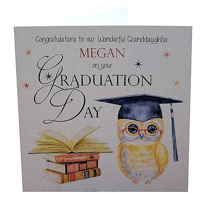 Granddaughter Graduation Card     Grandson Graduation Card