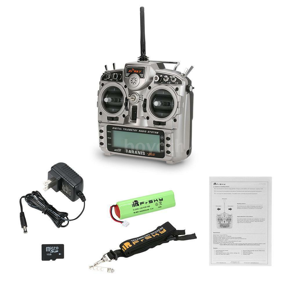 FrSky Taranis X9D Plus 2.4G ACCST 16CH Telemetry Transmitter Open TX Mode 2 C9C6