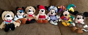 Image is loading Lot-Disney-Beanie-Baby-Themed-Costume-Plush-Mickey- 4a8744658669