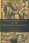 Poetry and Politics in the English Renaissance by David Norbrook (Paperback, 2002)