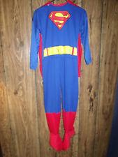 RUBIE'S SUPERMAN JUMPSUIT & CAPE BOY'S SIZE L HALLOWEEN COSTUME