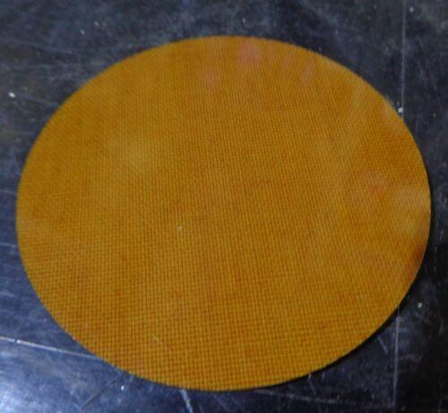 """Phenolic cloth inserted 3.480/"""" dia discs"""