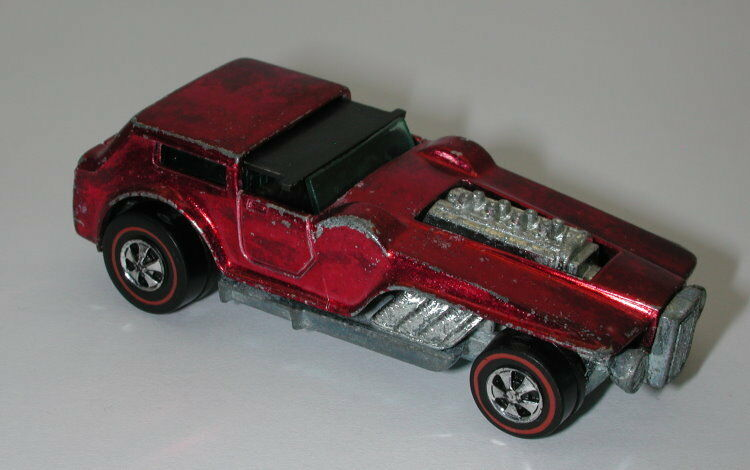 Redline Hotwheels Red 1971 The Hood oc11409