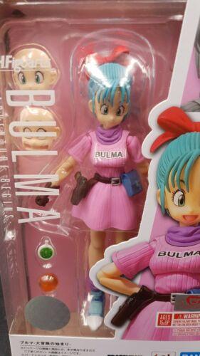 """in Stock BANDAI S.H.Figuarts /""""Dragon Ball/"""" Bulma SHF"""