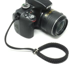 The-Cordy-Crossover-Black-Paracord-Camera-Wrist-Strap-Handmade-by-Cordweaver