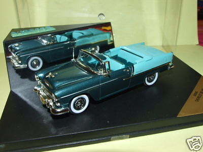 KEVROLET BEL AIR 1955 grön 2 ton VITESSE AV094D 1  43